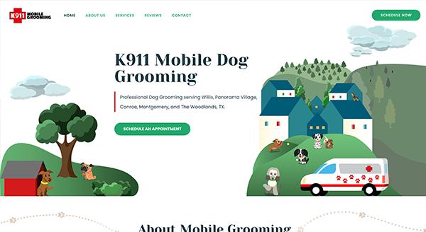k911 mobile grooming