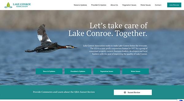 lake conroe association