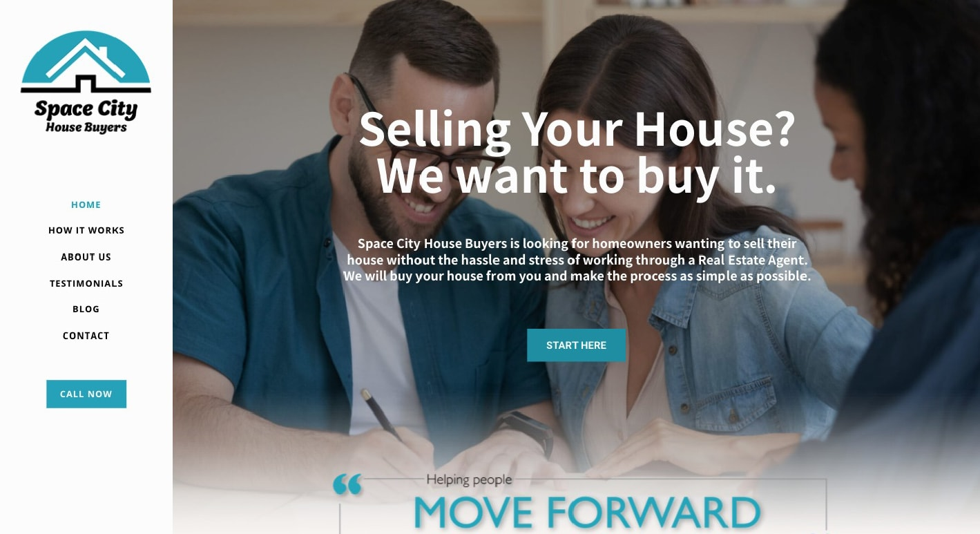 Space-City-House-Buyers-Website-Made-by-Voixly Web Design